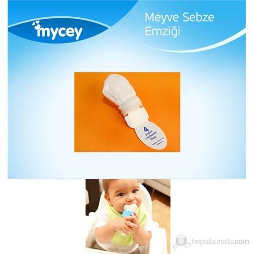 Mycey MyFeeder Güvenli Meyve Sebze Emziği Yedek File Seti