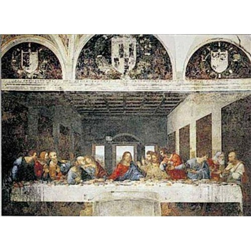 Ricordi Puzzle Ultima Cena The Last Supper, Da Vinci (1000 Parça)