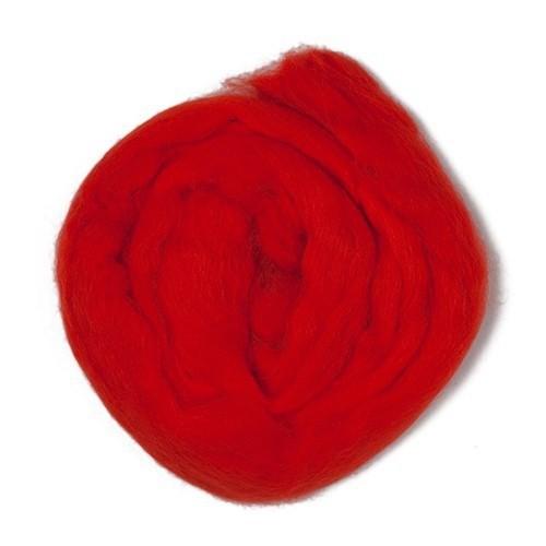 Kartopu Kırmızı Yün Keçe - K160