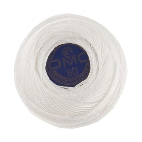 Dmc Fındık Yumak 5 Gr Beyaz Nakış İpliği - B5200