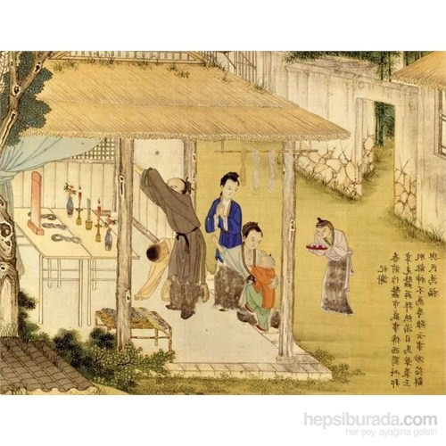 Chinese Family Blessing At Ancestral Hall (1000 P)