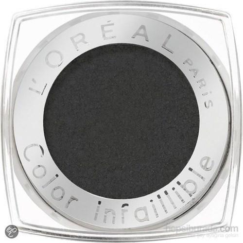 Loreal Paris Color Infallible Eyeshadow 30 Ultra Black Tekli Far