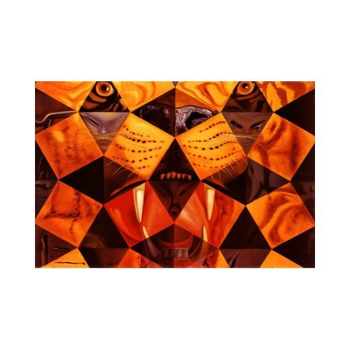 Ricordi Puzzle Cinguenta... Tigre Real,Salvador Dali (1500 Parça)