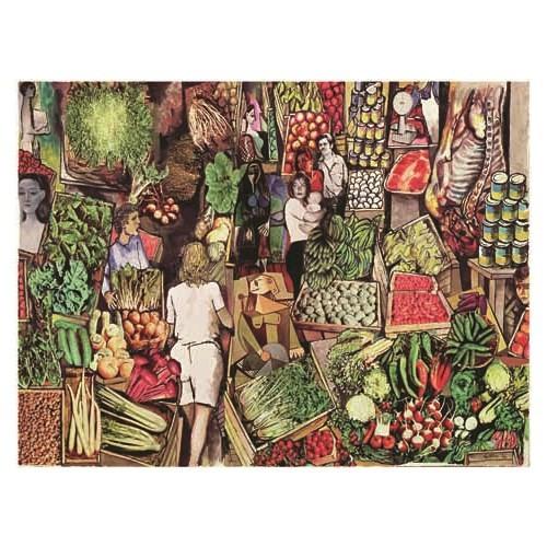 Ricordi Puzzle Study for the market, Guttuso (1500 Parça)