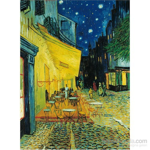Clementoni 1000 Parça Puzzle Van Gogh - Esterno di Caffè di Notte