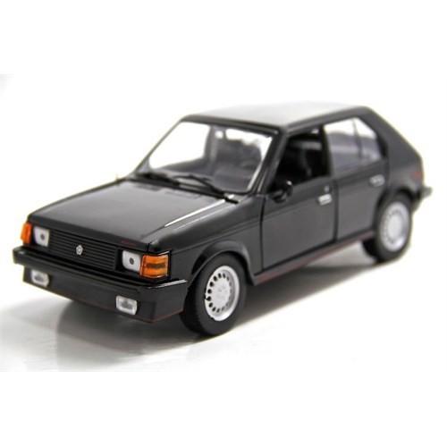 Motormax 1:24 1985 Dodge Omni Glh -Siyah Model Araba