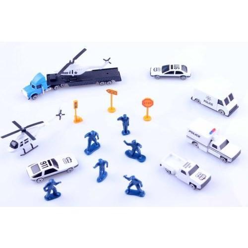 Learning Toys 16'lı Diecast 1/87 Polis Seti