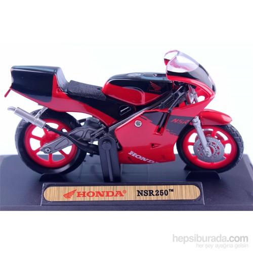 Diecast Honda Nsr 250 1/18 Die Cast Model Motorsiklet