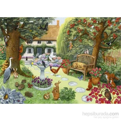 English Country Garden (250 Parça, Xxl Puzzle)