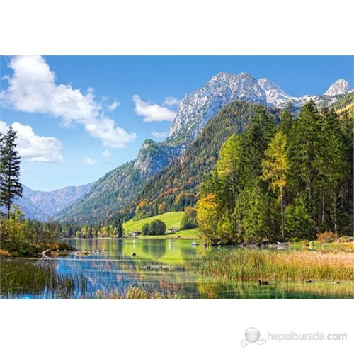 Castorland 3000 Parça Mountain Refuge İn The Alps