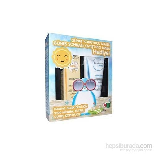 Bioderma Abcderm Mineral Sun Cream - Atoderm Creme 200 Ml Hediye