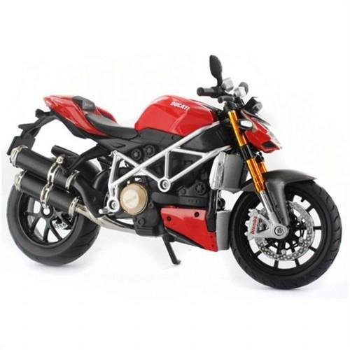 Maisto 1:12 Ducati Street Model Motorsiklet