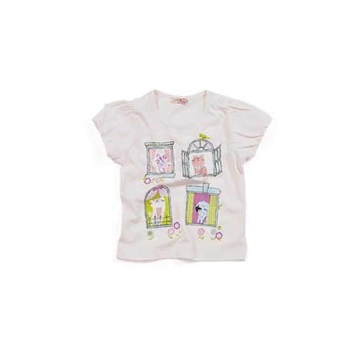 Zeyland Kız Çocuk Pembe T-Shirt - K-61Z2HTC54