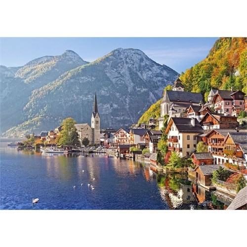 Castorland 500 Parça Puzzle Hallstatt Austria