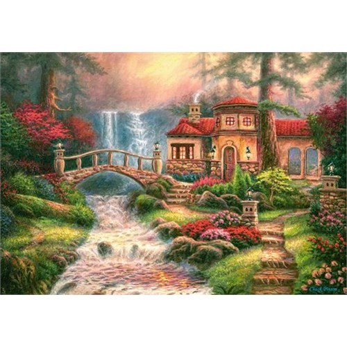 500 Parça Sierra River Falls (Castorland 52202)