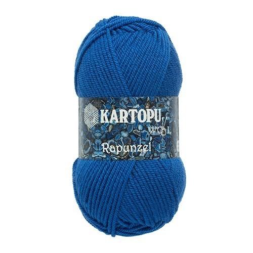 Kartopu Rapunzel Mavi El Örgü İpi - K530