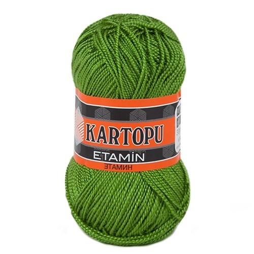 Kartopu Etamin Yeşil El Örgü İpi - K392