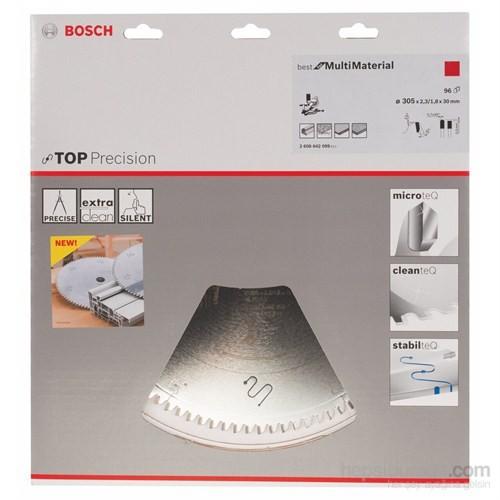 Bosch - Best Serisi Hassas Kesim Çoklu Malzemeler İçin Daire Testere Bıçağı - 305 X 30 X 2,3 Mm, 96 Diş