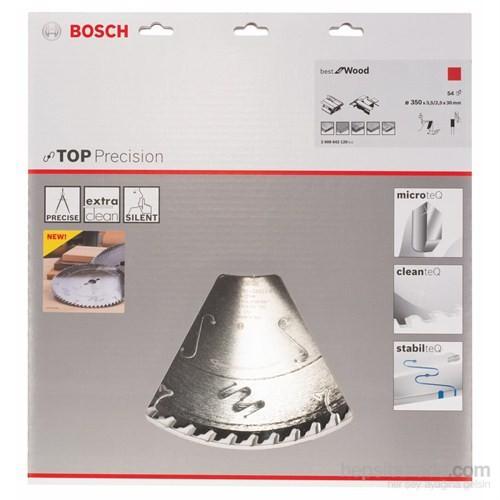 Bosch - Best Serisi Hassas Kesim Ahşap İçin Daire Testere Bıçağı - 350 X 30 X 3,5 Mm, 54 Diş