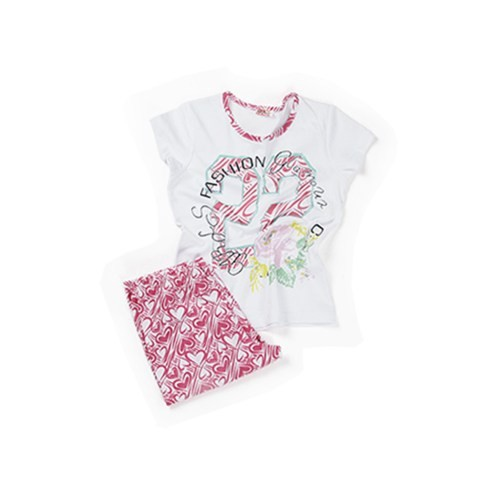 Zeyland Kız Çocuk Pembe Pijama Takım - K-61Z4PJM605