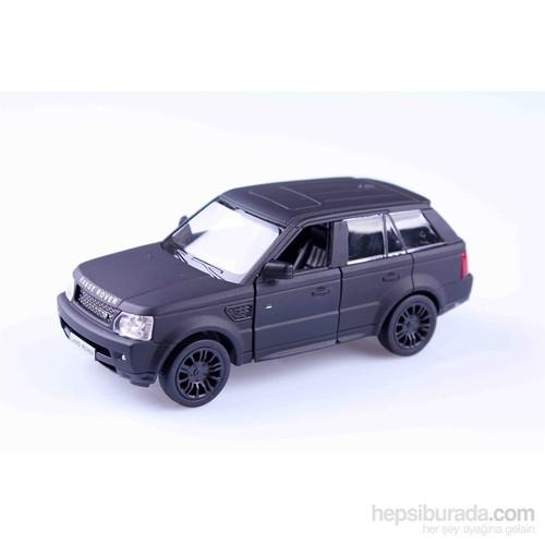 Mat Siyah Range Rover Sport 1/36 Çek Bırak Die Cast Model Araç