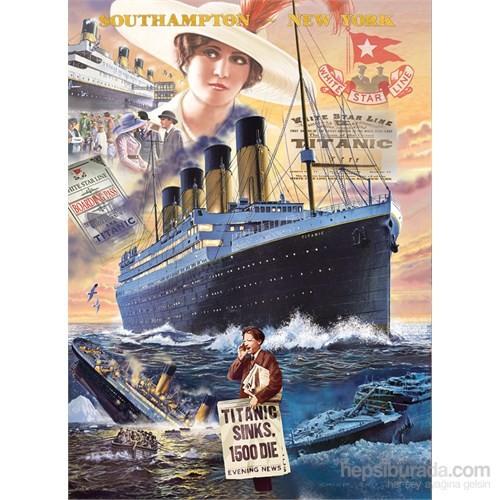 Clementoni 1000 Parça Puzzle Titanic