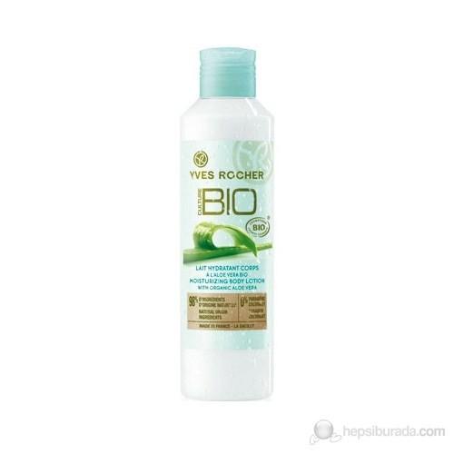 Yves Rocher Culture Bio - %100 Organik Nemlendirici Vücut Sütü