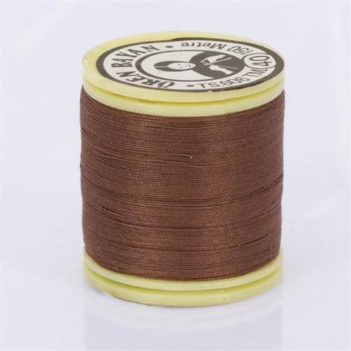 Ören Bayan Koyu Kahverengi Polyester Dikiş İpliği - 224