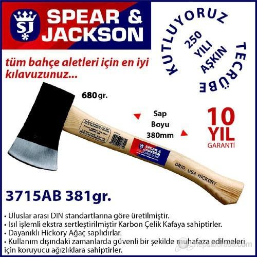 Spear And Jackson 3715Ab Ağaç Saplı Balta 680 Gr
