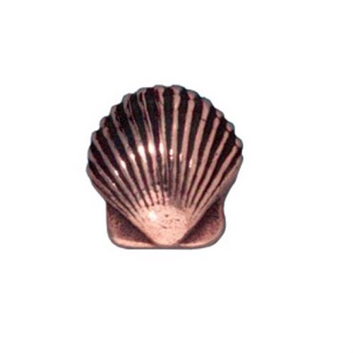 Tierra Cast Metal 1 Adet 9X8.5 Mm Bakır Rengi Deniz Kabuğu Boncuk - 94-5682-18