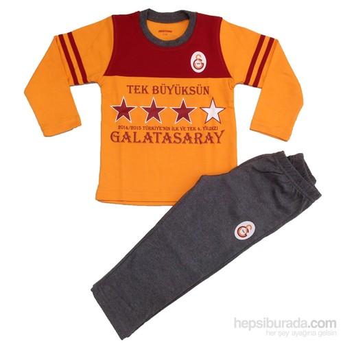 Galatasaray Gsstore Lisanslı Eşofman Takımı-Sarı