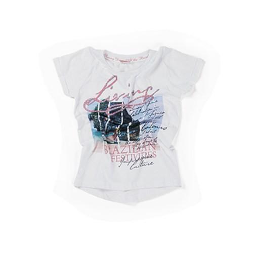 Zeyland Kız Çocuk Beyaz T-Shirt - K-61Z4EGB54