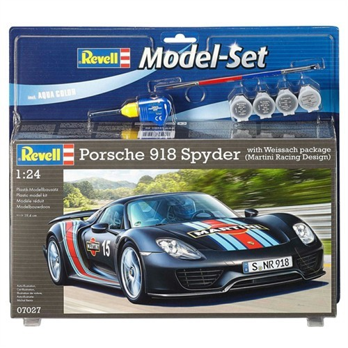 Revell Porsche 918 Weissach Maket Seti 67027