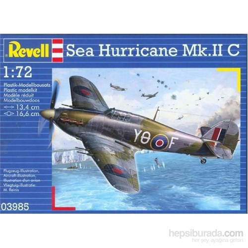 Revell 1:72 Uçak Maket Seti M.Set Sea Hurricane Mkıı