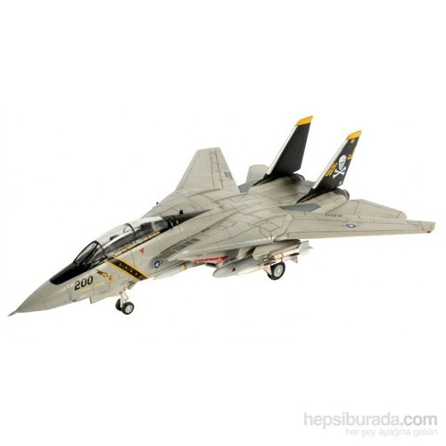 Revell 1:144 Uçak Model Maket Seti M.Set F-14A Tomcat