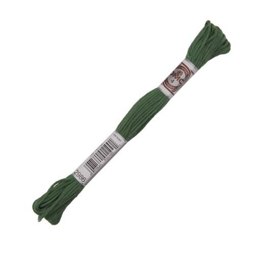 Dmc Koton İplik Çile 10 M Yeşil Nakış İpliği - 2986
