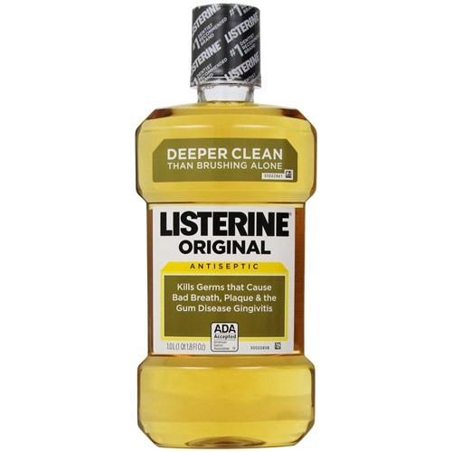 Listerine Original Antiseptic Gargara 1 Litre