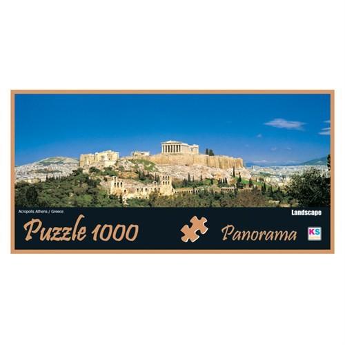 Ks 1000 Parça Puzzle Panoramik Acropolis