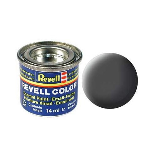 Revell Olive Grey Mat 14 Ml Maket Boyası