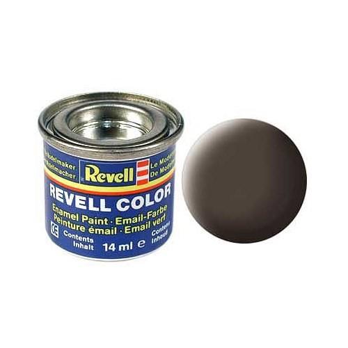 Revell Leather Brown Mat 14 Ml Maket Boyası