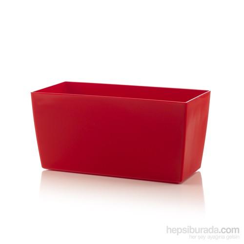 Teraplast Coımbra (Rosso) Plastik Saksı