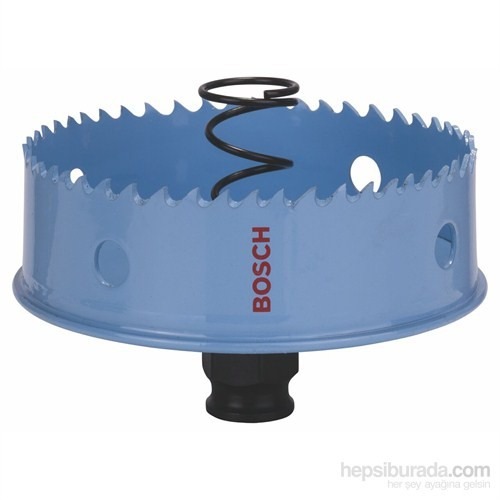 """Bosch - Saç Metal İçin Delik Açma Testeresi (Panç) - 89 Mm, 3 1/2"""""""