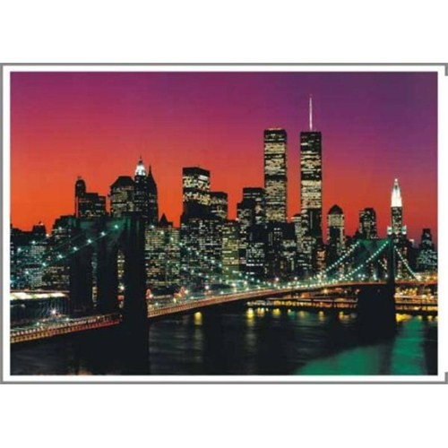 KS Games Puzzle Top View Brooklyn Bridge (2000 Parça)