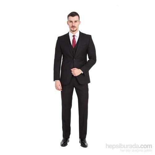 Kiğılı Slimfit Yelekli Takım Elbise 6K1d76yl61