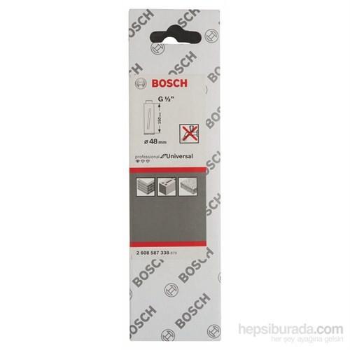 """Bosch - Elmas Kuru Karot Ucu G 1/2"""" - 48 Mm, 150 Mm, 3 Segmente, 7 Mm"""