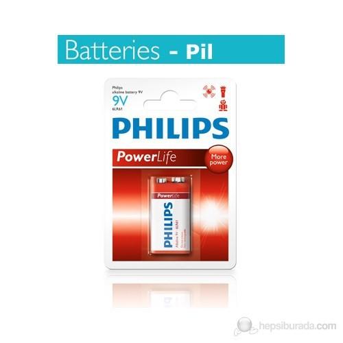Philips 9 Volt Alkalin Pil