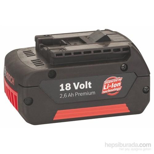 Bosch - 18 V – Geçmeli Akü Paketi - Hd, 2,6 Ah, Li Ion