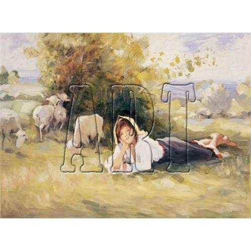 Art Puzzle Çoban Kız (500 Parça)