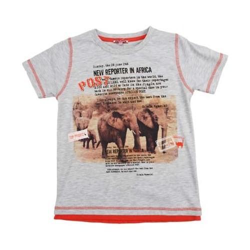 Zeyland Erkek Çocuk Karmelanj Tshirt K-51Z663sfh54