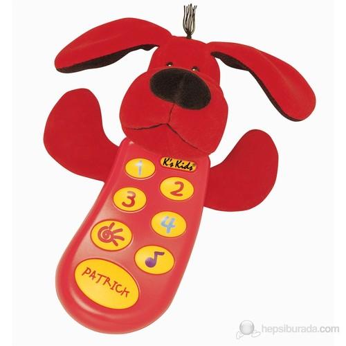 K's Kıds Moms On The Phone Ses Kaydedici Telefon Patrıck